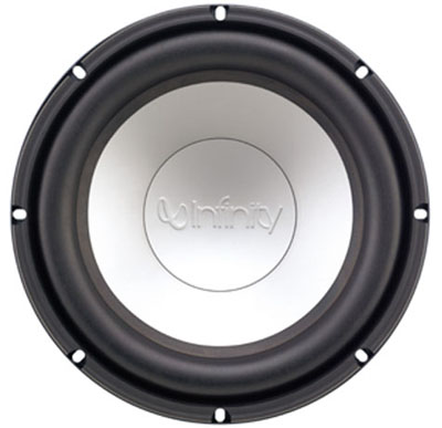 infinity 10 sub. infinity\u0027s ceramic metal matrix diaphragm™ material is a major breakthrough in transducer-diaphragm technology. for subwoofer applications, it offers infinity 10 sub