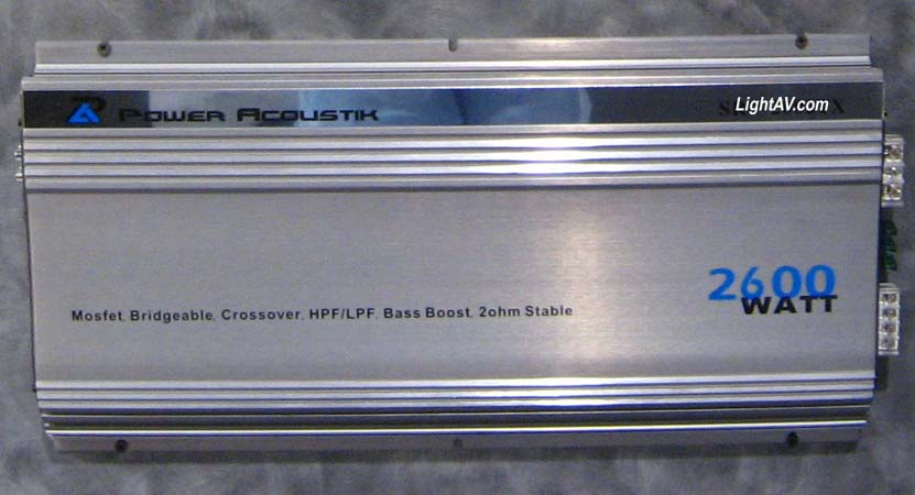 Power Acoustik Power Series 2 Ch Amplifiers @LightAV com 877
